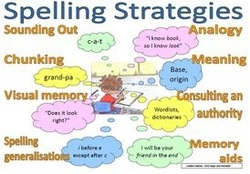 Spelling Strategy Types Digital Literacy Resource For